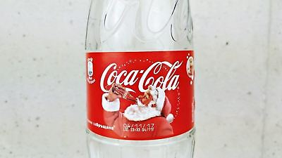 Coca Cola Extremely Rare 750 ML Glass Bottle Christmas Special Edition 2016