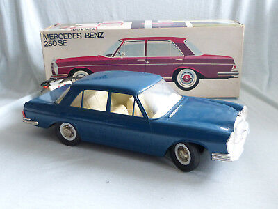 Rex Arnold Mercedes Benz W108 Modell Toy 70er Jahre 40cm Germany in Box Plastic