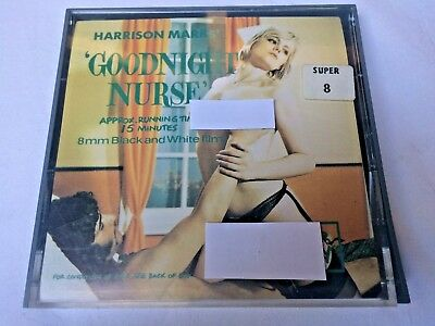 8mm Super 8 Film Glamour Adult Nurse Harrison Marks Vintage Cine Reel