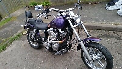 Harley Davidson FXLR, 1994 ,  Lowrider Chop 1450 TWIN CAM FITTED No Reserve