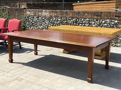 Large 8ft Mahogany Dining Table