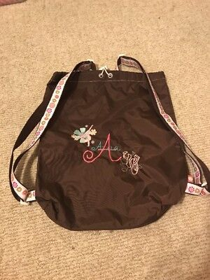 Lot Of 2 Personalized —Ava— Dance/Tumble Bag And Tote Bag.