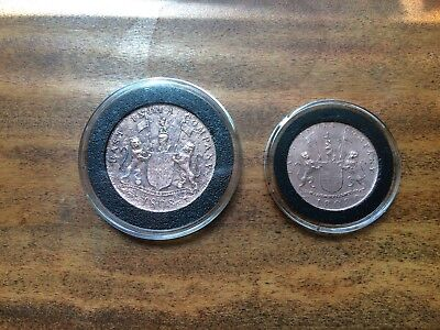 Authentic set of X and XX Admiral Gardner Shipwreck Treasure coins.