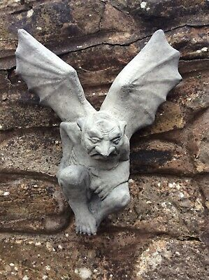 Stone Garden Gargoyle With Wings Batman Garden Ornament