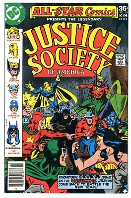 All Star Comics #69 NM 9.4 white pages  Justice Society  DC  1977  No Reserve