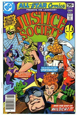 All Star Comics #73 NM+ 9.6 white pages  Justice Society  DC  1978  No Reserve