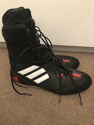 Adidas Tygun 1 Boxing trainers mens uk Size 10 hardly worn/excellent condition