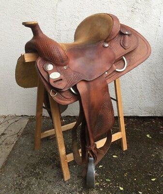 Deuber Westernsattel Wyoming CC 02 - 16 Double C Saddlery