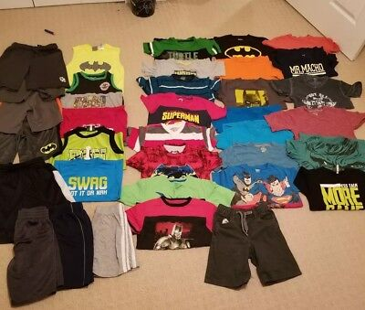 35 piece boys summer lot size 6/7