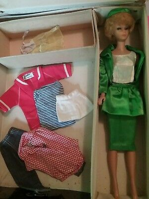 barbie vintage bubblecut with case