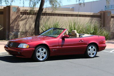 1999 Mercedes-Benz SL-Class  1999 Mercedes Benz SL500 Rare Amber Red Metallic Beautiful Must See!