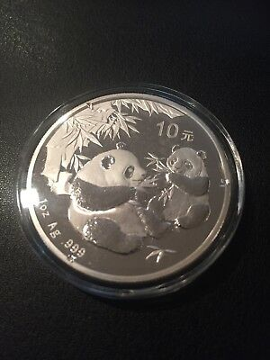 china 1 oz silver panda Proof 2006 No Reserve .99 start Gorgeous Coin