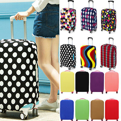 Travel Luggage Cover Bags Protector Elastic Suitcase Trolley Dust-Proof Covers