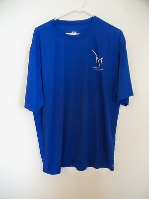 M Resort & Casino Las Vegas Blue Soft T-Shirt XL New
