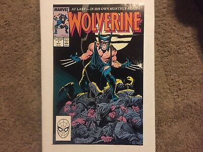 WOLVERINE #1 1988 1st Print NM UNREAD 1st PATCH, From Private Collection