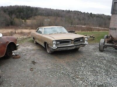 1966 Pontiac Grand Prix  1966 PONTIAC GRAN PRIX RESTORATION PROJECT 389  325HP YE TURBO 400 #S MATCH CAR