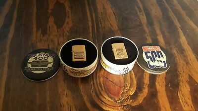 Zippo Lighters Set 2 Indianapolis Speedway Indy 500 Brickyard 400 Nascar 1994