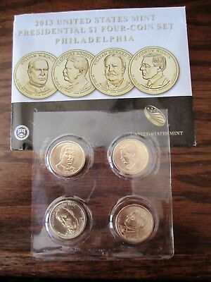 2013 P & D Uncirculated Presidential Dollar Coins  7 Sets Available