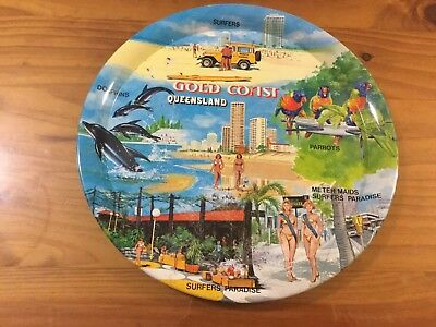Collectable Gold Coast Queensland Drinks Tray.