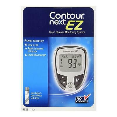 NEW Bayer Contour Next EZ Blood Glucose Monitoring System 5-Second 9628 Model