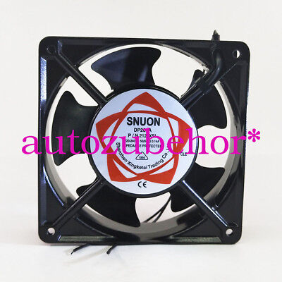 for SUNON DP200A P/N2123XSL Axial cooling fan 220~240VAC  120x120x38MM 2wire