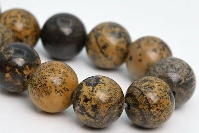 10MM Natural Artistic Jasper Beads Grade AAA Round Gemstone Loose Beads 7.5""