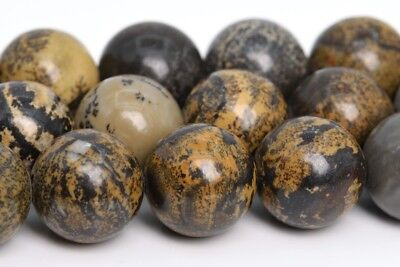 10MM Natural Artistic Jasper Beads Grade AAA Round Gemstone Loose Beads 15.5""
