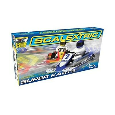 Scalextric 1:32 Scale Super Karts Race Set - 132 C1334 New