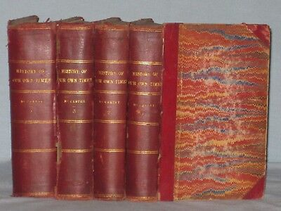1880 Complete Set Of 4 Books A History Of Our Own Times By Justin Mccarthy
