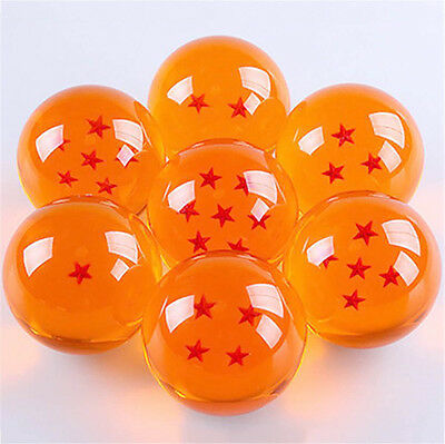 DragonBall Z Anime Stars 3.5cm Crystal Ball Set 7PCS in Box Gift Collection