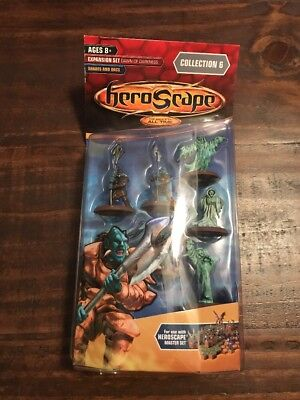 Hasbro HeroScape Expansion Set Dawn of Darkness Collection Shades and Orcs
