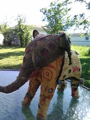 cloth elephant from india