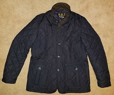 Barbour Quilted Jacket Size Large