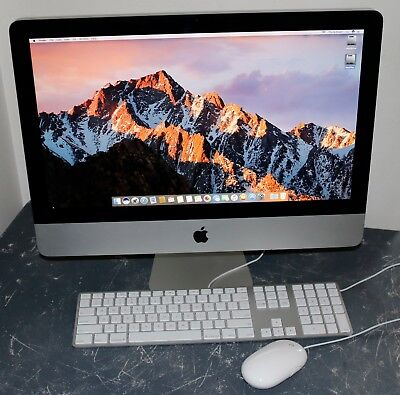 "Apple iMac 21.5"" Core i5 3.33GHz, 8GB RAM, 120GB SSD, 1TB HDD OS X Sierra"