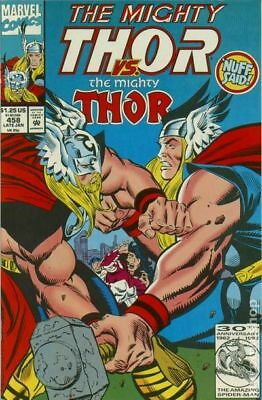 Thor (1st Series Journey Into Mystery) #458 1993 VF Stock Image