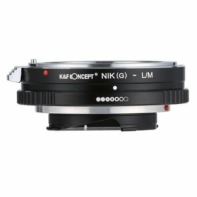 NIK(G) - L/M Adapter for Nikon AI(G) Mount Lens to Leica M CL Minolta CLE Camera
