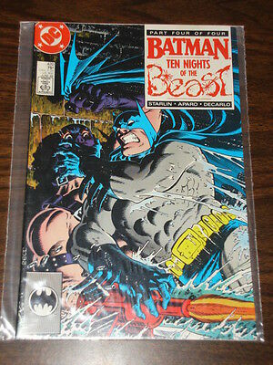 Batman #420 Dc Comics 10 Nights Of The Beast Dark Knight Nm Condition June 1988