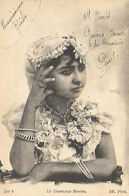 Meriem Jeune femme mauresque  / Young moorish woman Meriem