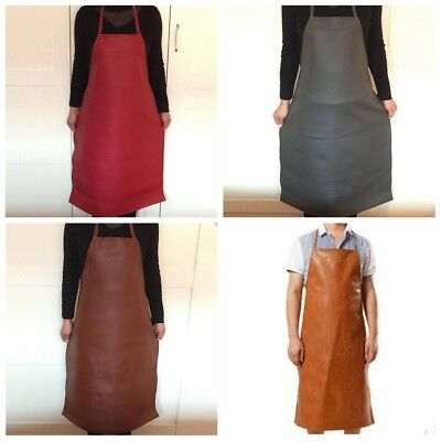 PU Leather Welding Apron Equipment Welder Protection Heat Insulation Apron