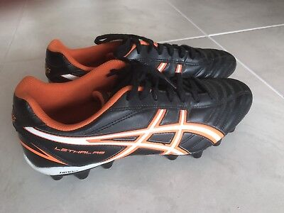 Asics Lethal Football Footy Boots Size 9.5 New
