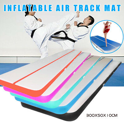 300*50*10 Inflatable Air Track Tumbling Floor Gymnastic Practice Training Mat