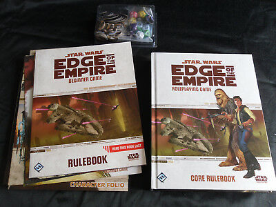 Star Wars: Edge of the Empire Rollenspiel-Set (Core Rulebook + Beginner Game)