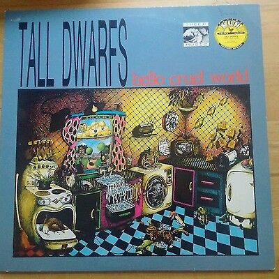 Tall Dwarfs ‎– Hello Cruel World   LP 1987   Flying Nun Europe ‎– FNE 15