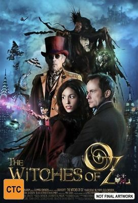 B1 BRAND NEW SEALED Witches Of Oz (DVD, 2011, 2-Disc Set)