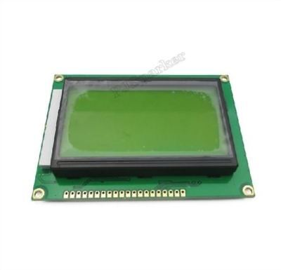 10Pcs ST7920 5V 12864 128X64 Dots Graphic Lcd Yellow Green Backlight New Ic bf