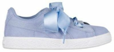 uk availability ddb97 b45aa PUMA SUEDE HEART - Girls' Grade School GS Lavender Luster SZ 5C Shoes  36500902