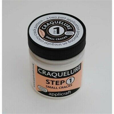 Applicraft : Craquelure Base : Small Crack Effect : Water Based : 100ml - 100ml