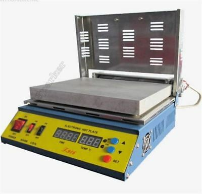 T946 Mcup Hot Plate Pcb Preheater Preheating Oven 800W 180X240MM 100% Warrant tf