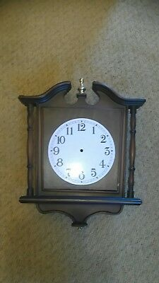 Wall clock case good condition large