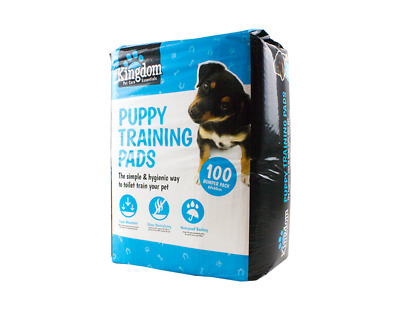 100 X Puppy Training Pads 60CM X 60CM